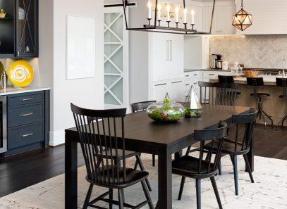 Image of a modern farmhouse style kitchen