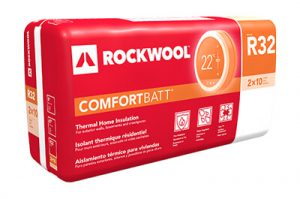 Image of Rockwool ComfortBatt still in the package
