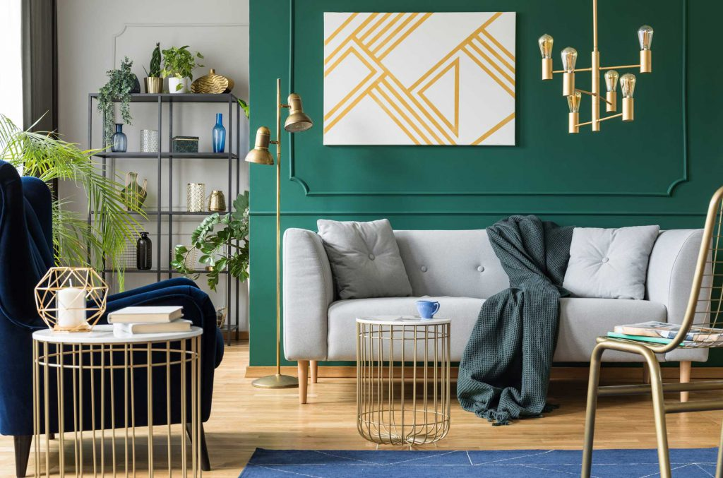 Accent wall example